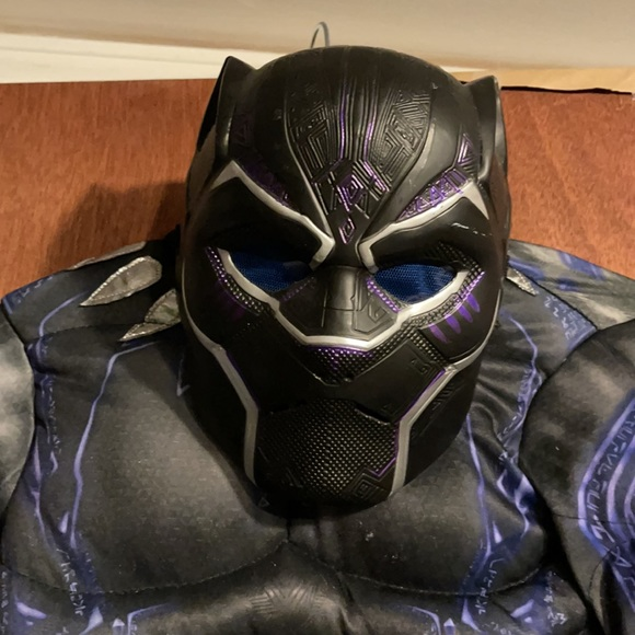 Rubies Black Panther medium costume. Worn once.